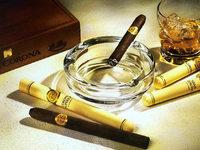 100 französische Tabakhändler demonstrieren gegen deutsche Tabakpreise