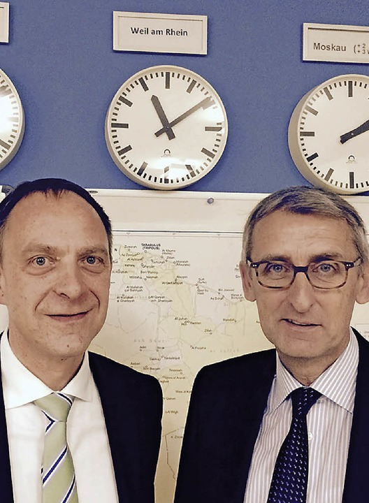 Christian Buck und Armin Schuster    Foto: Privat