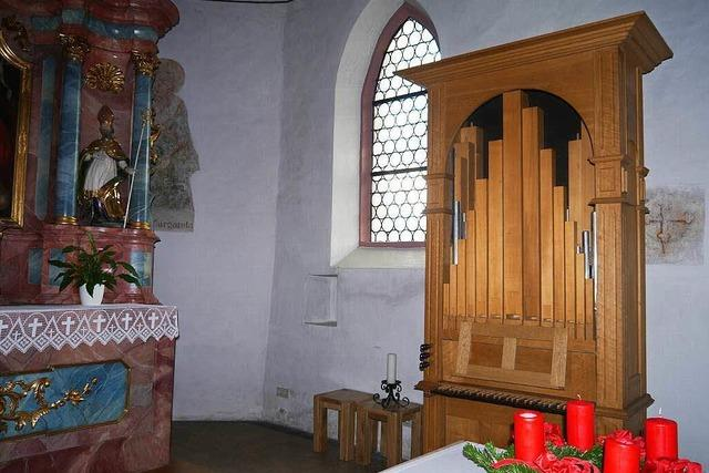 Die kleinste Orgel im Dreisamtal