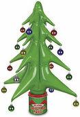 Heute blasen wir den Christbaum auf