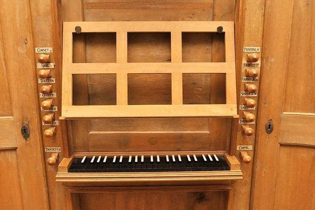 In Niederrotweil steht die älteste Orgel des Breisgaus