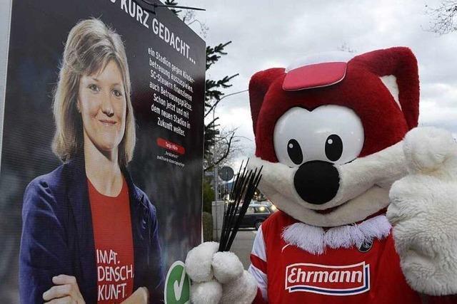 Fotos: Start in den Stadion-Wahlkampf