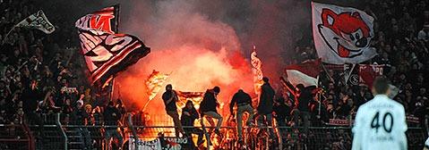 Strafen gegen SC-Anh�nger: Gericht st�tzt Ordnungsamt