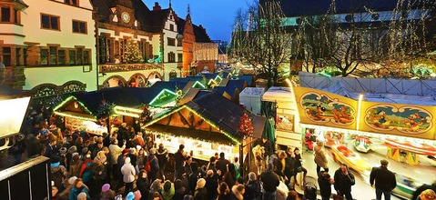Der Freiburger Weihnachtsmarkt schw�chelt
