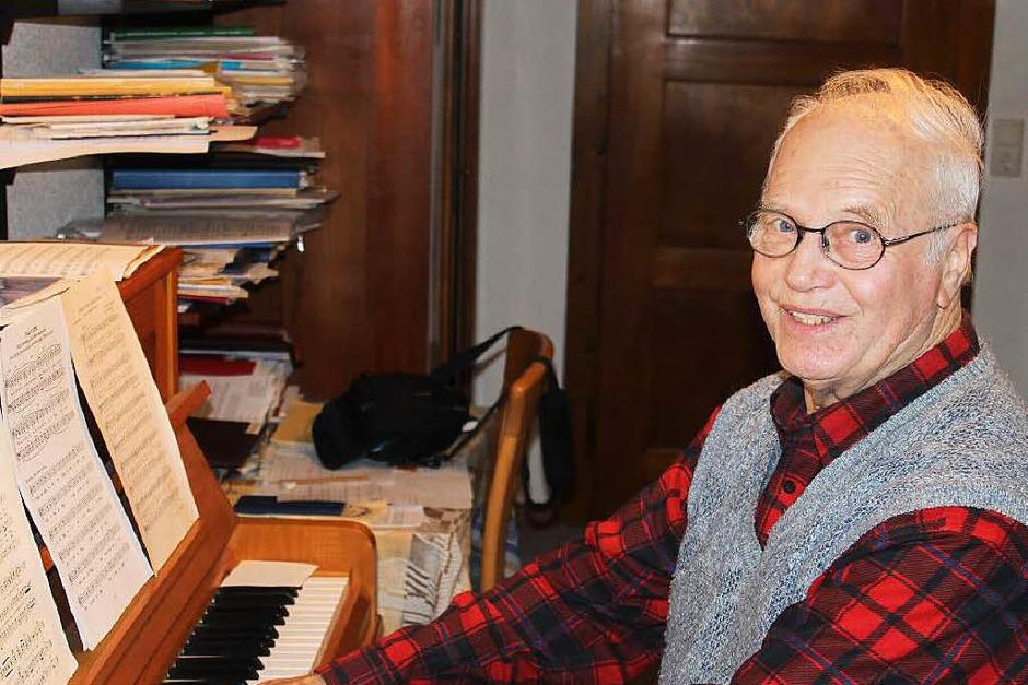 Franz Krumm aus Kürzell ist seit Jahrzehnten Chorleiter in Kürzell und Schwanau. (Foto: Hans Spengler)