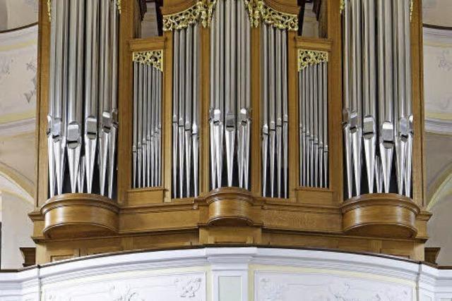 Eine Orgel, in der Merdingen steckt