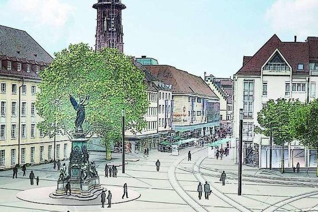 So wird der Freiburger Innenstadtring gepflastert
