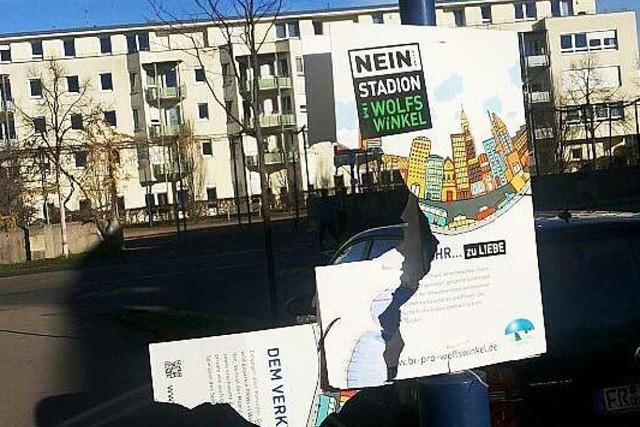 SC Freiburg bedauert Zerstörung gegnerischer Plakate