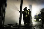Fotos: Brand im Landratsamt Emmendingen