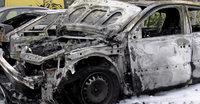 Weniger abgefackelte Autos im Elsass