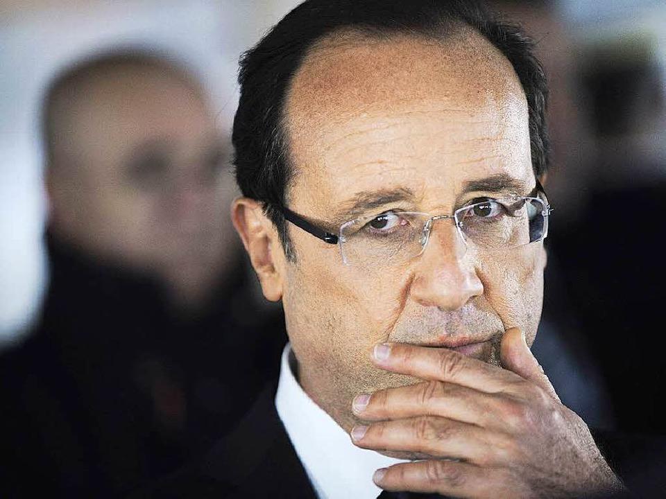 Wann wird Hollande den Schrottreaktor vom Netz nehmen?  | Foto: AFP