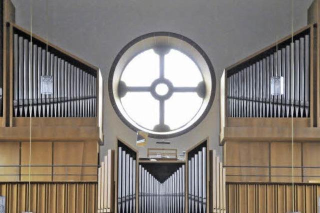 Ganz außer Dienst ist die Orgel nicht