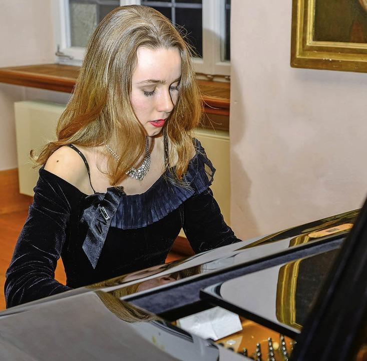Susanne Lang gastierte im Bürgersaal.   | Foto: olaf michel