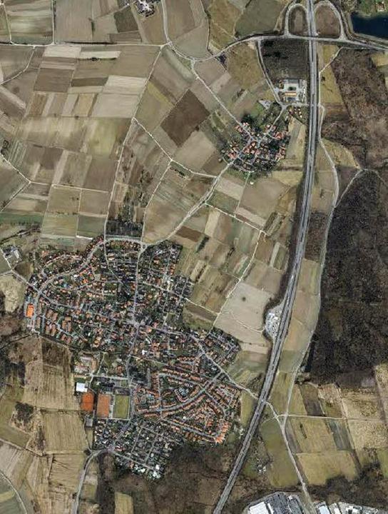 Die neue Trasse der Rheintalbahn folgt...ng relativ einfach  zu gewährleisten.   | Foto: Stadtverwaltung Freiburg