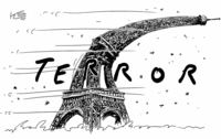 Sturmtief �ber Frankreich