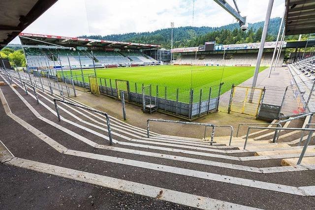 Kommt der Neubau, soll das Dreisamstadion bleiben – aber kleiner
