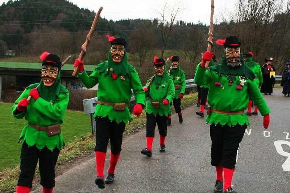 Anmarsch zum Festumzug am Sonntag (Foto: Karin Heiß)