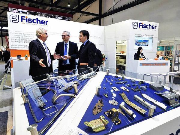 Treffpunkt der regionalen Wirtschaft: die Industriemesse I+E des Wirtschaftsverbandes Industrieller Unternehmen Baden
