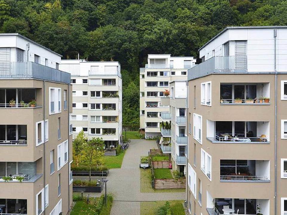Die Bevölkerung Freiburgs wird weiter ... 2030 14.600 neue Wohnungen benötigen.  | Foto: Michael Bamberger