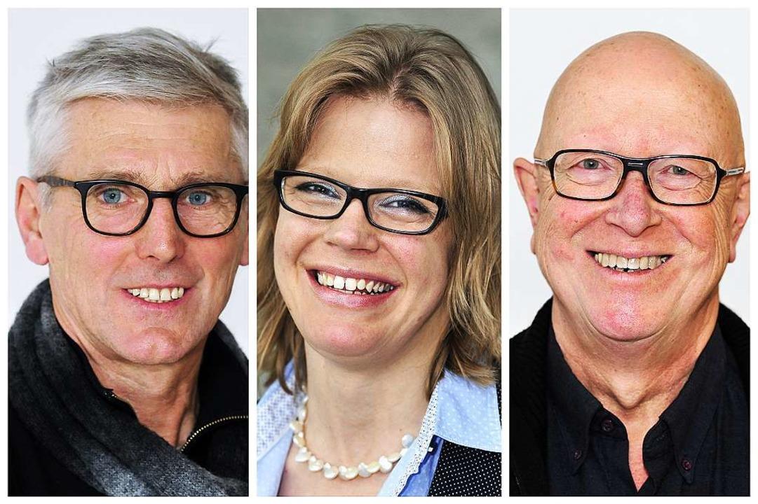 """Sagen """"Ja"""" zum neuen Stadi...h, Anke Dallmann und Franz-Karl Opitz.    Foto: Thomas Kunz"""
