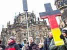 Weniger Zulauf f�r Pegida in Dresden
