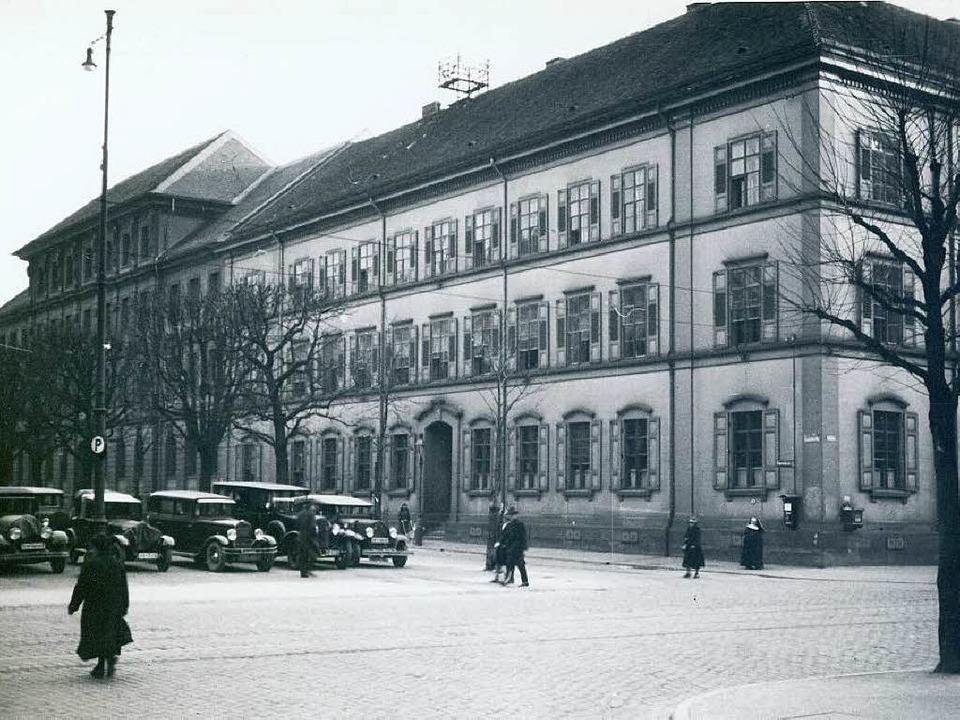 Das Landgericht (heute Amtsgericht), Aufnahme vor 1933  | Foto: stadtarchiv/staatsarchiv