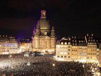 Fest f�r ein weltoffenes und buntes Dresden