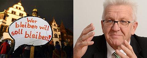 Roma-Familie: Kretschmann rechtfertigt Abschiebung