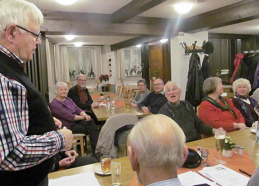 Guten Zuspruch  fand die von Paul Kuhn...derversammlung der CDU-Seniorenunion.   | Foto: Albert Greiner