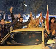Kurden feiern ihren Sieg über die IS-Terrormiliz