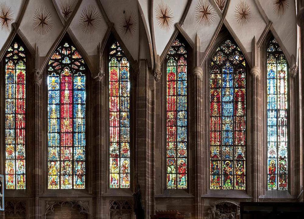 Der Kontrast zu diesen historischen Fe...der Katharinenkapelle wird enorm sein.  | Foto: Zabou carriere