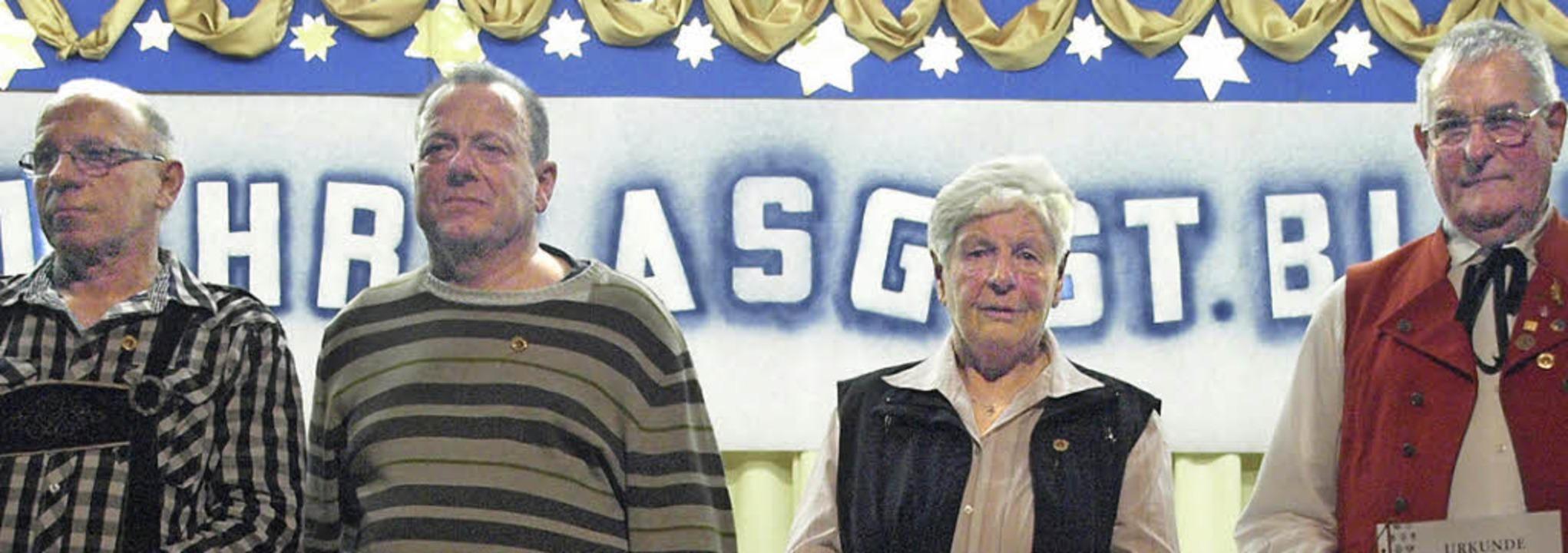 Ihr 50-jähriges Jubiläum feierte die A...Anton Kaiser (von links) geehrt wurden  | Foto: Karin Stöckl-Steinebrunner