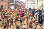 Fotos: Jubiläumsumzug der Ruäbsäck in Köndringen