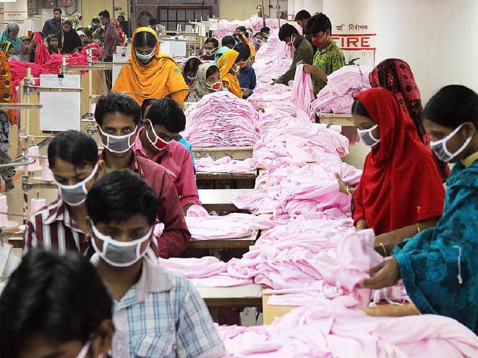 auch luxus label lassen billig in bangladesch produzieren wirtschaft badische zeitung. Black Bedroom Furniture Sets. Home Design Ideas