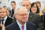 Hubert Burda feiert mit den Offenburger Mitarbeitern 75. Geburtstag