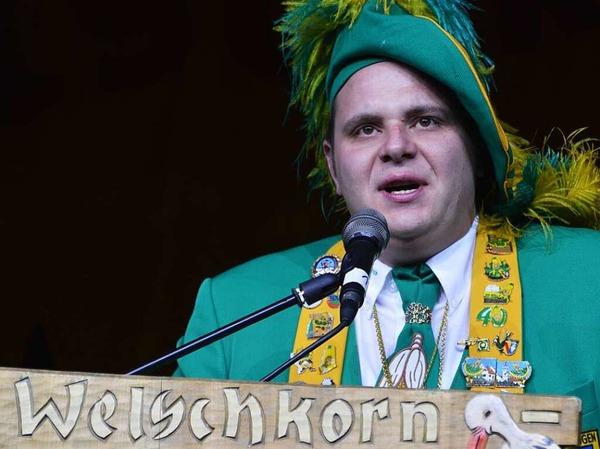 Hauptzunftabend Oberzunftmeister Michael Heizmann