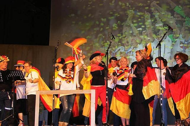 Fotos: Fasnächtlicher Sängerball in Heitersheim