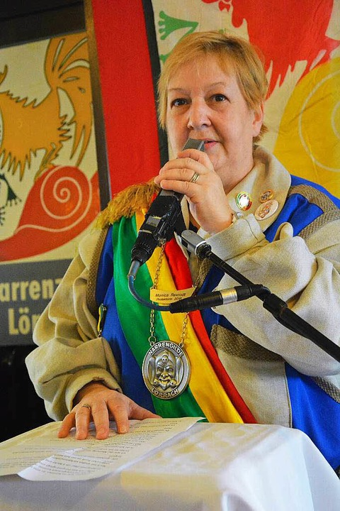 Rastsuppe: protektorin Monica Rexrodt  | Foto: Barbara Ruda
