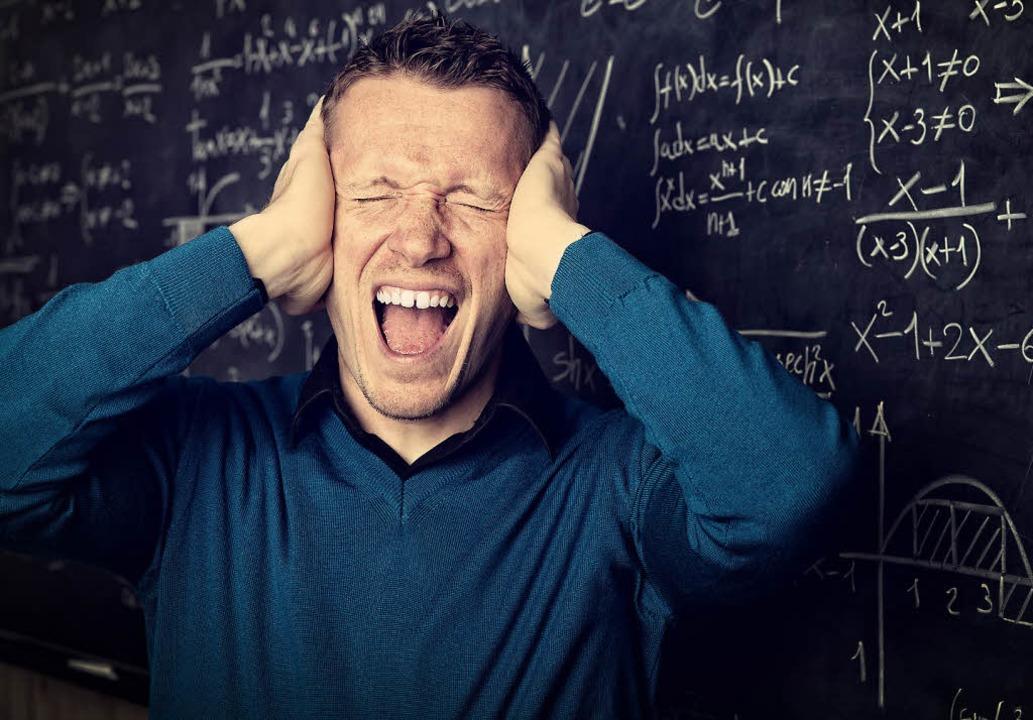 Lehrer können schon mal durchdrehen. M... was an der Schule alles falsch läuft.  | Foto: Brit Schilling/Gualtiero Boffi/Fotolia.com