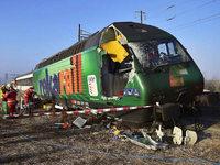 Zugungl�ck in der Schweiz: Zwei Z�ge prallen aufeinander