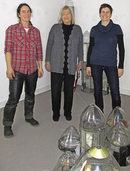 Glasarbeiten zum Thema Körper im Stadtmuseum Hüfingen