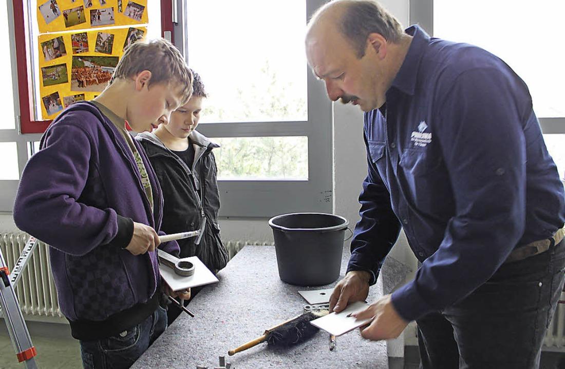 Bisher präsentierten sich Handwerker b...in die jeweiligen Berufsfelder bieten.  | Foto: Martha Weishaar
