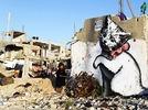 Banksy verewigt sich im Gaza-Streifen