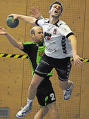 Handballer unter Druck