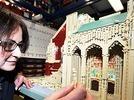 Ulmer M�nster aus Lego  nachgebaut