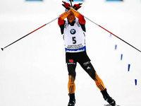 Erik Lesser holt WM-Gold im Biathlon