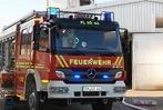 Fotos: Brand in einer Lagerhalle in Vörstetten