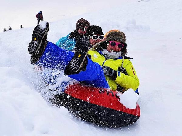 Stimmung, Sonne, Schnee: der achte Ladies Day auf dem Feldberg.<?ZE?>