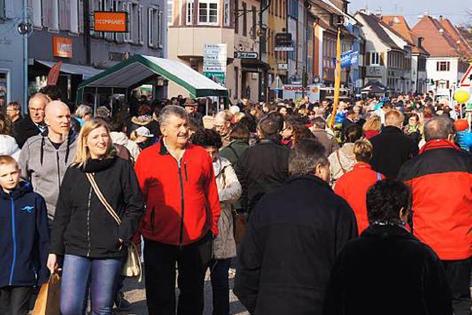 Impressionen vom Frühlingsmarkt in Kenzingen (Foto: Ilona Huege)