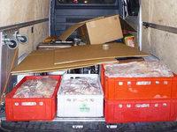 Schweizer wollten �ber 730 Kilogramm Fleisch schmuggeln